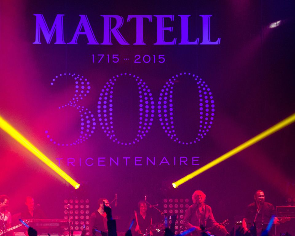 Martell France 300 Entertainment talents