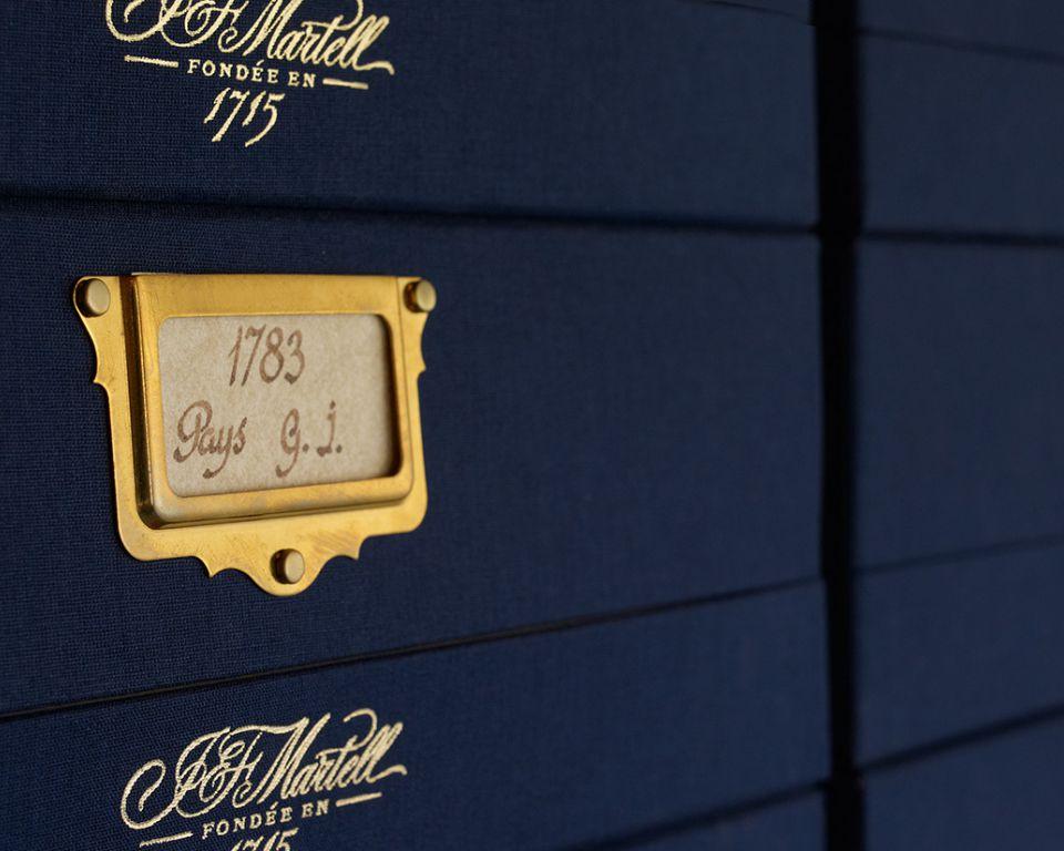 martell cognac house history
