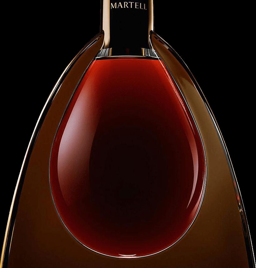 martell cognac l'or de jean martell bottle