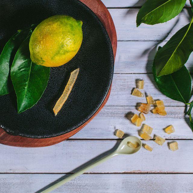 烘烤柠檬 原料