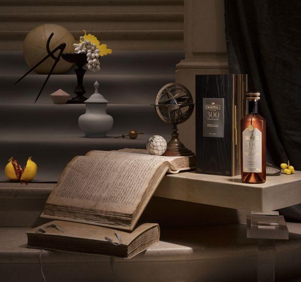 """马爹利三百周年典藏限量版 以三种特殊的""""生命之水""""调和而成"""