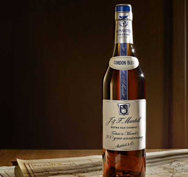 """Martell Cordon Bleu   """"A Tribute to Martell's 300 year anniversary"""""""