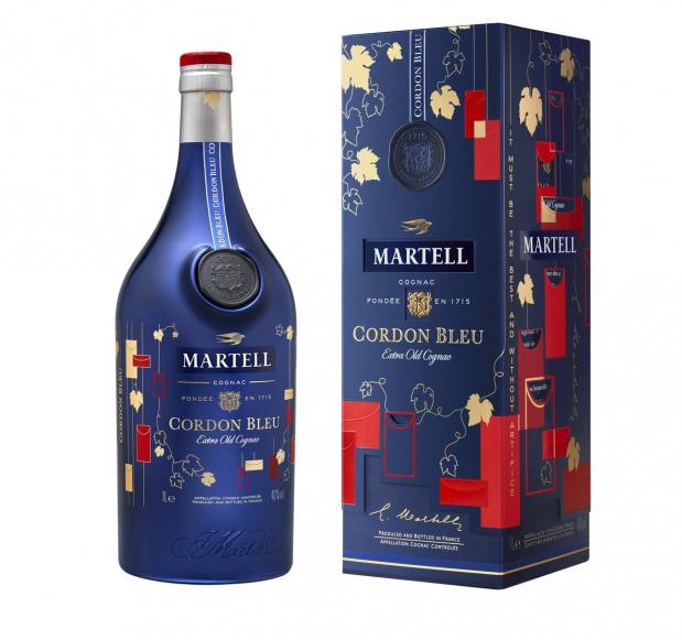 马爹利蓝带限量版 一款被鉴赏家评为传奇的干邑