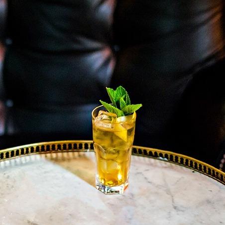 新鲜绿茶 鸡尾酒