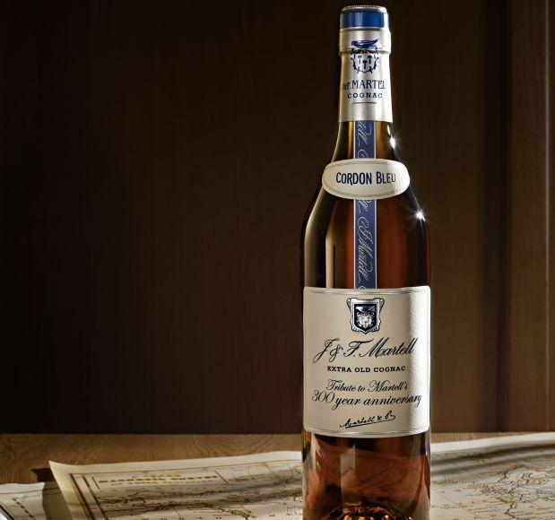 Martell Cordon Bleu  «Une création en l'honneur du 300ème anniversaire de Martell.»