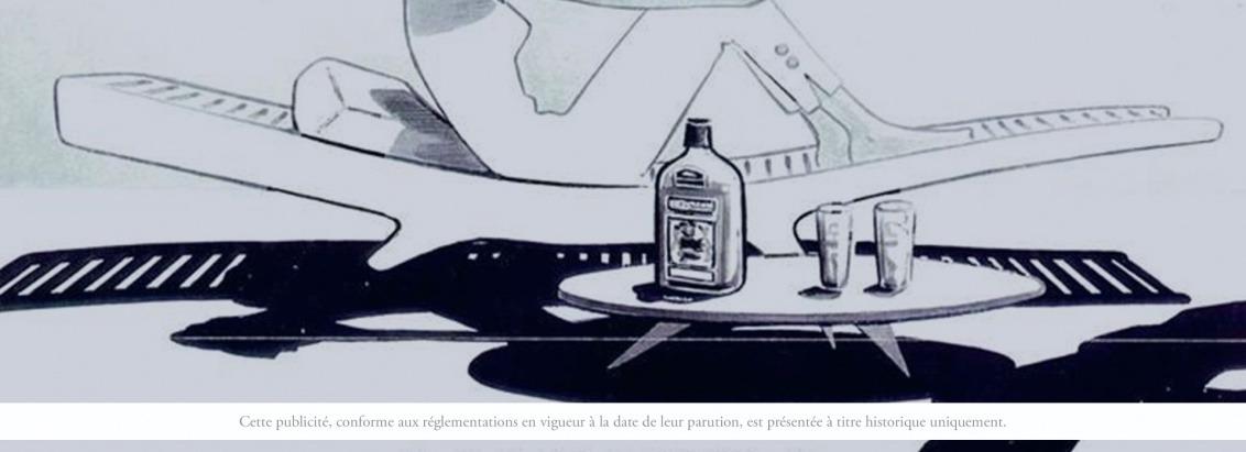 Martell Dry Pale publicité 1950
