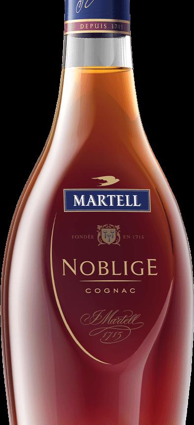 martell cognac noblige bottle