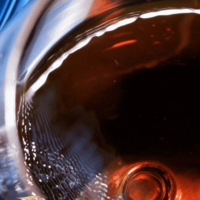 Cognac Swirl