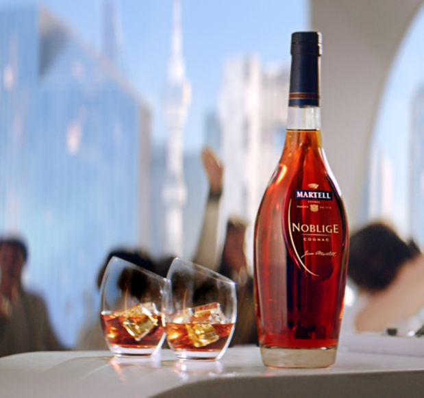 Martell NOBLIGE Cognac 700ml bottle