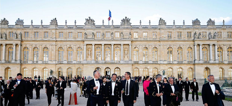 Los distinguidos invitados al 300.º aniversario de Martell que tuvo lugar en mayo en el Palacio de Versalles