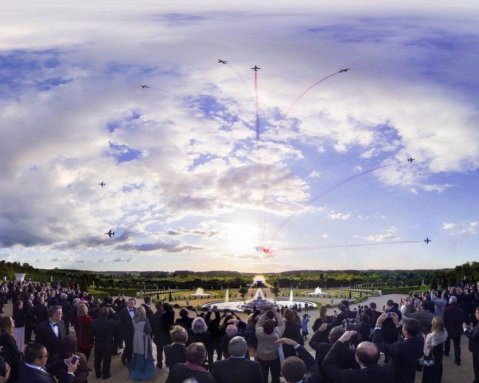 El increíble 300.º aniversario de Martell en el Palacio de Versalles