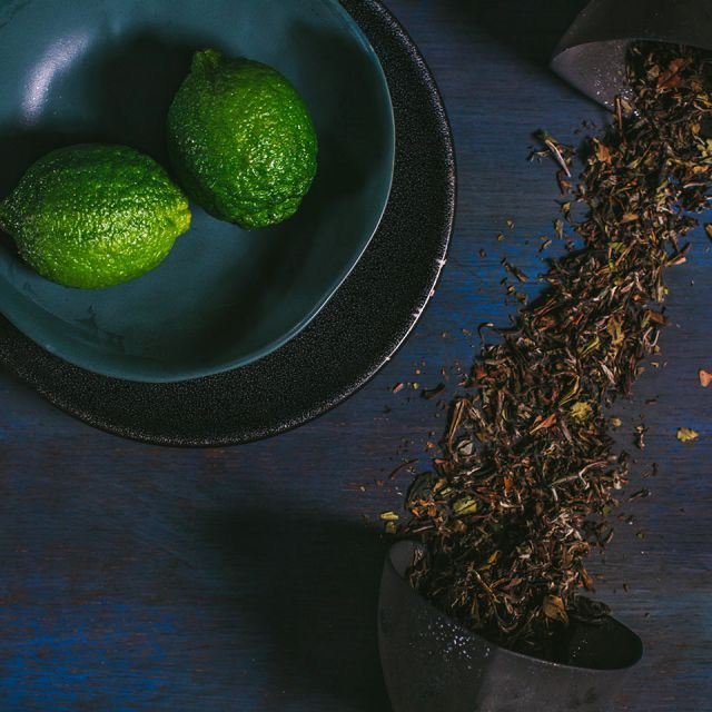 CRISP GREEN TEA INGREDIENTES