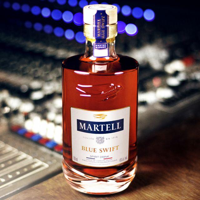 Martell Blue Swift EL COÑAC
