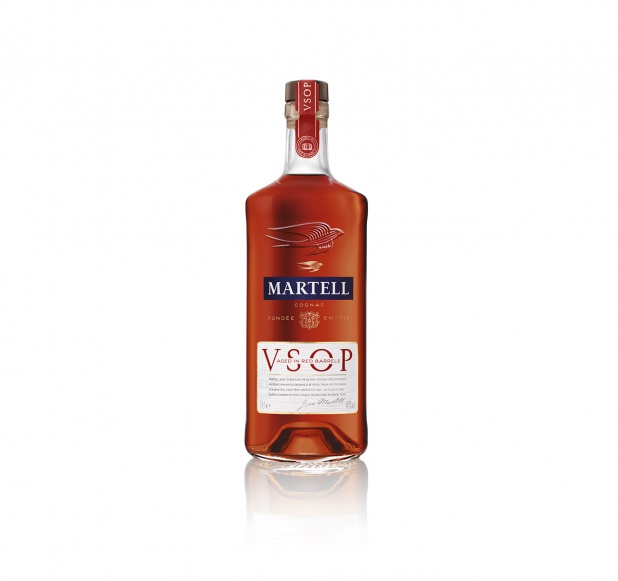 MARTELL V.S.O.P. AGED IN RED BARRELS Botella de cognac de 700 ml