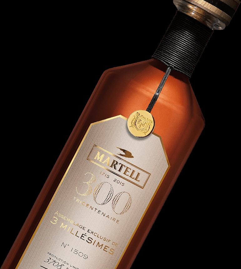martell cognac assemble exclusif 300 bottle