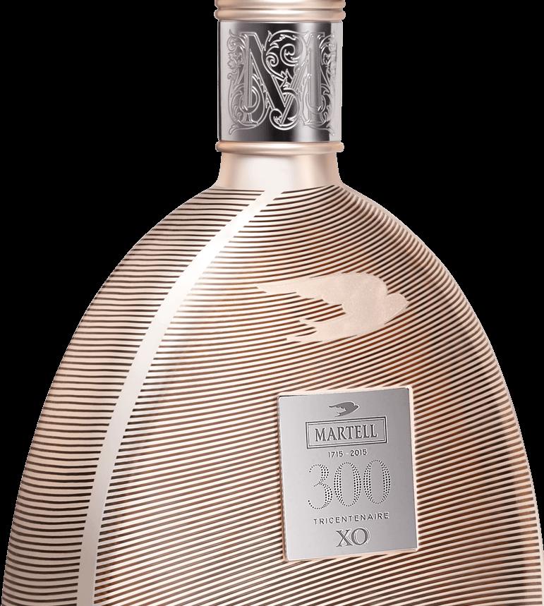 martell cognac XO 300 edition bottle