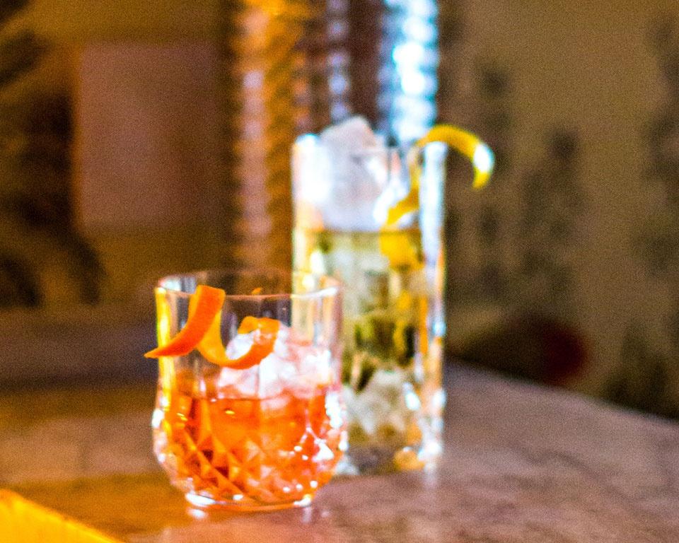 Martell cognac cocktail float