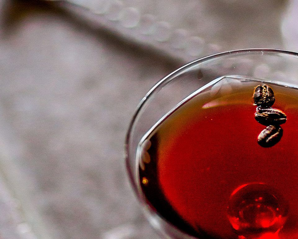 Martell cognac cocktail live with caractere