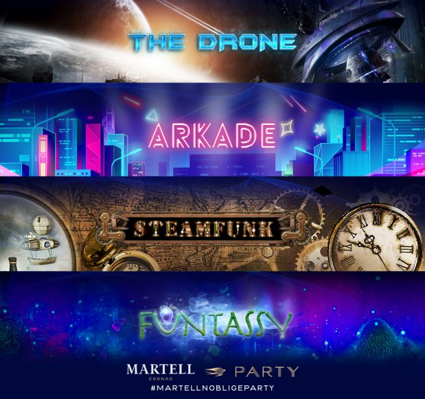 A Remarkable Series of Martell Parties