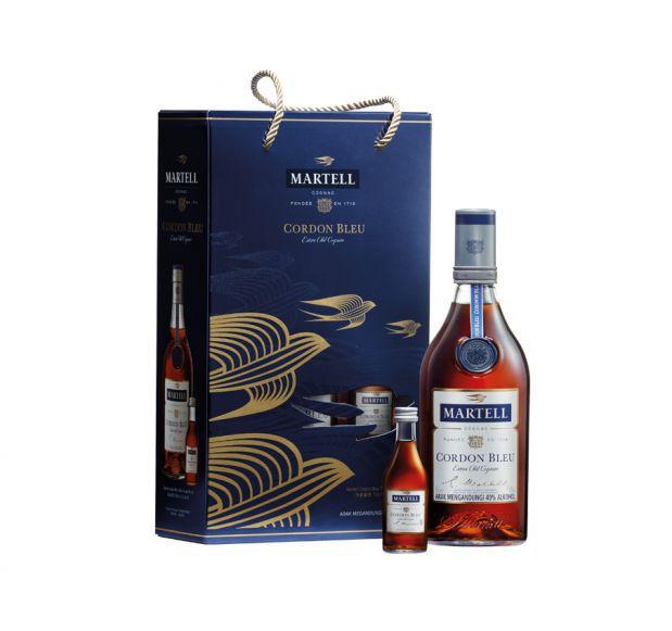 Martell Cordon Bleu VAP Cognac 700 ml bottle