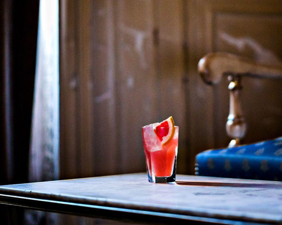 Martell cognac cocktail blush