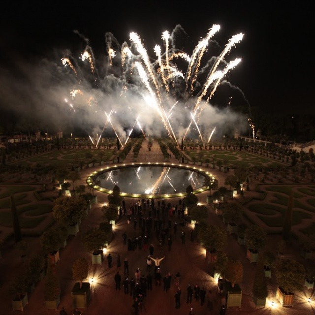Fireworks at Versailles for Martell300 Anniversary