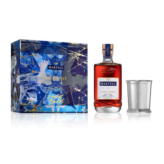 Martell Blue Swift Limited Edition by Ghetto Gastro Martell Blue Swift Limited Edition by Ghetto Gastro