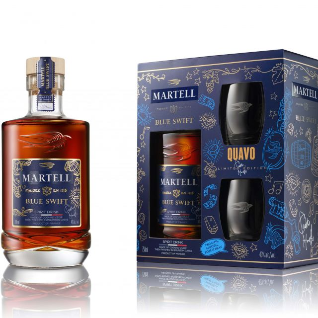 Martell Blue Swift Limited Edition by Quavo The Spirit