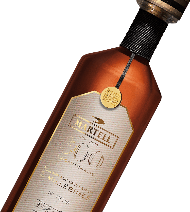 Martell Cognac assemblage exclusif 3 millesimes