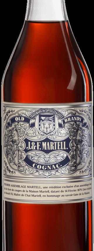 Martell cognac premier assemblage bottle
