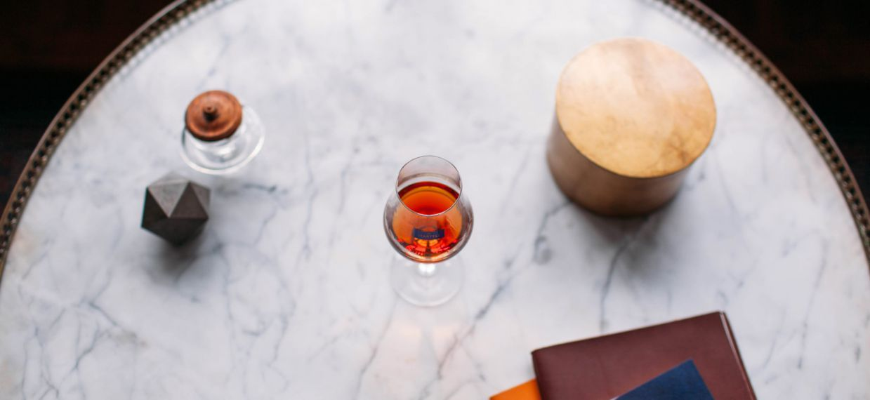 WHAT KIND OF GLASS IS BEST FOR TASTING COGNAC?
