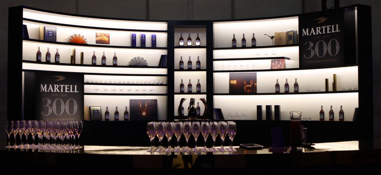 4 ateliers at the Palace of Versailles to discover the Art of Martell - the Mixology bar