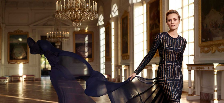 Диана Крюгер посетила Версальский дворец в честь 300-летия Martell