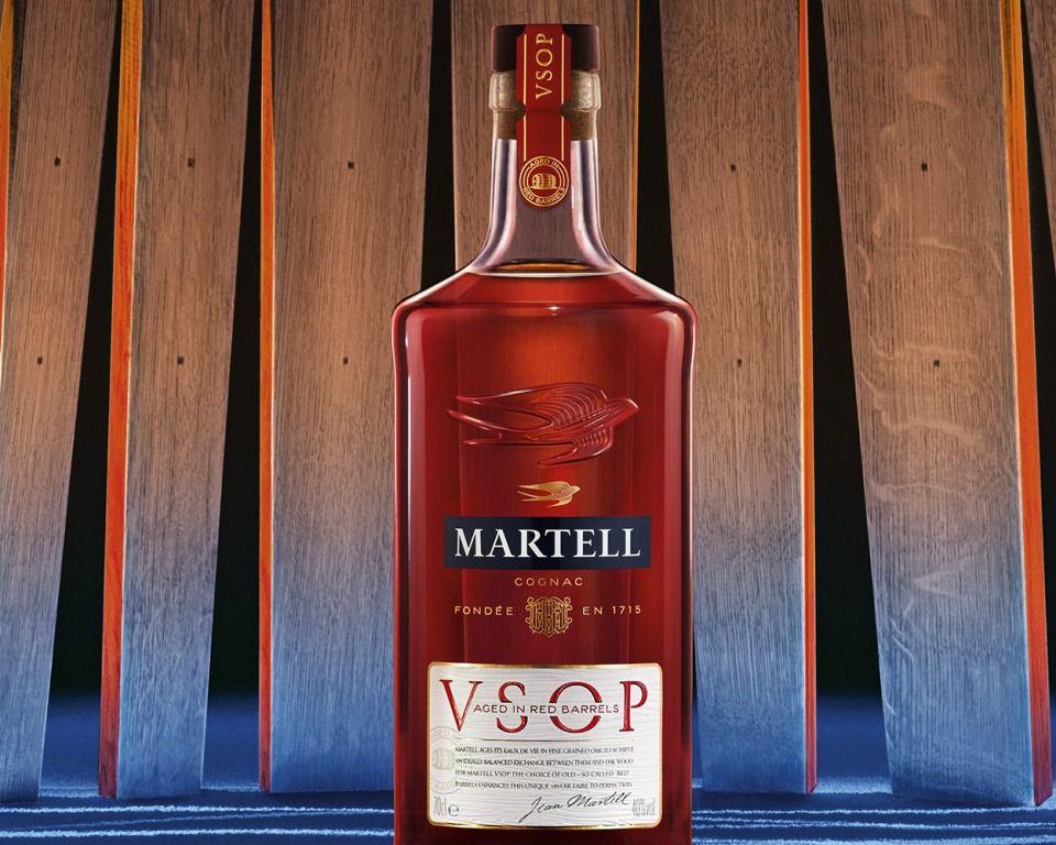 MARTELL VSOP AGED IN RED BARRELS - ИСТИННОЕ ИСКУССТВО В ИДЕАЛЬНОМ БАЛАНСЕ