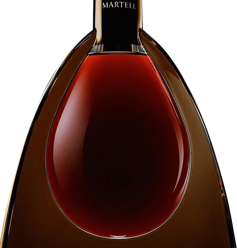 martell cognac l'or de jean martell bottle