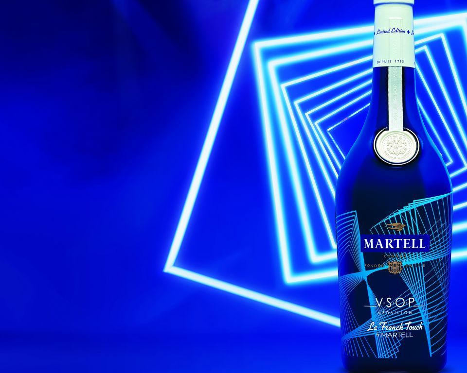 V.S.O.P. La FRENCH TOUCH - A LIMITED EDITION DRESSED BY Martell
