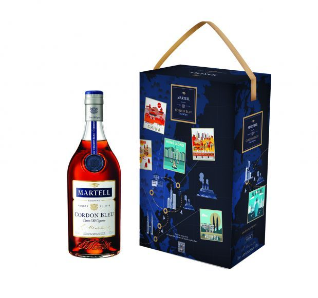 CORDON BLEU LEGENDARY JOURNEYS Cognac 1000ml bottle