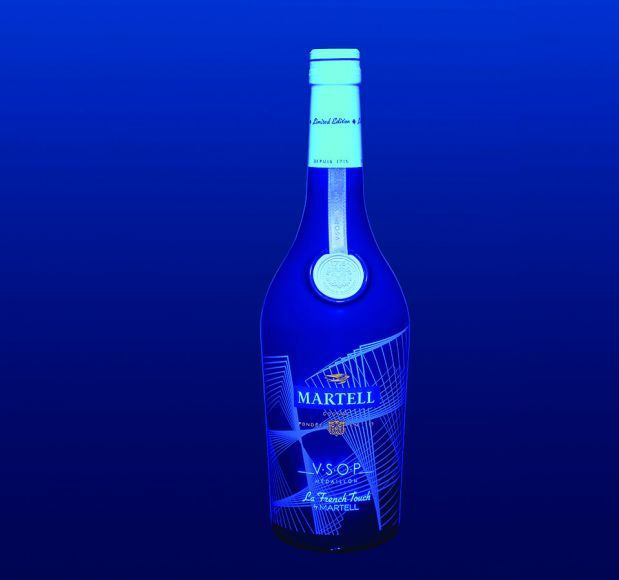 discover with UV effect A Limited Edition by Martell