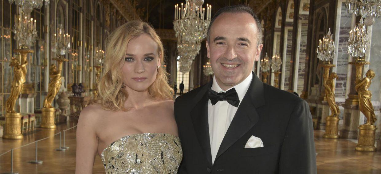 戴安•克魯格(Diane Kruger)與Philippe Guettat於凡爾賽宮參與馬爹利300週年慶典