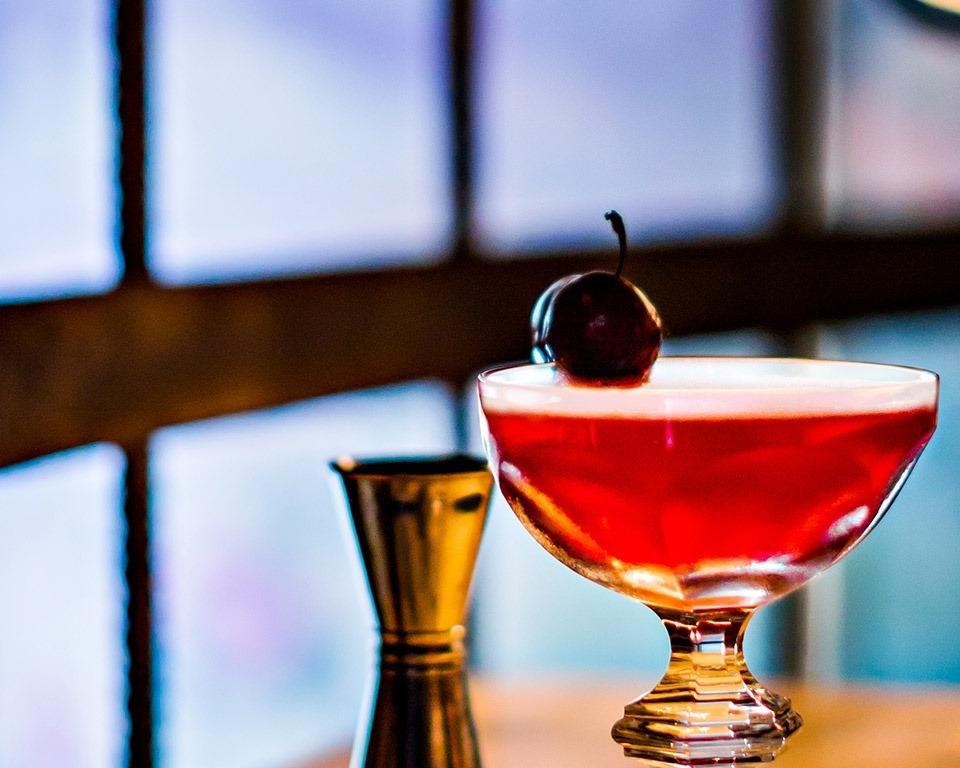 馬爹利, 干邑, 調酒, Floral Cherry