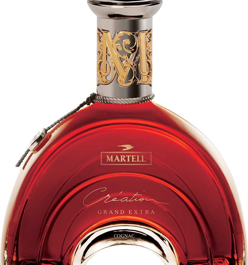 martell cognac creation grand extra bottle