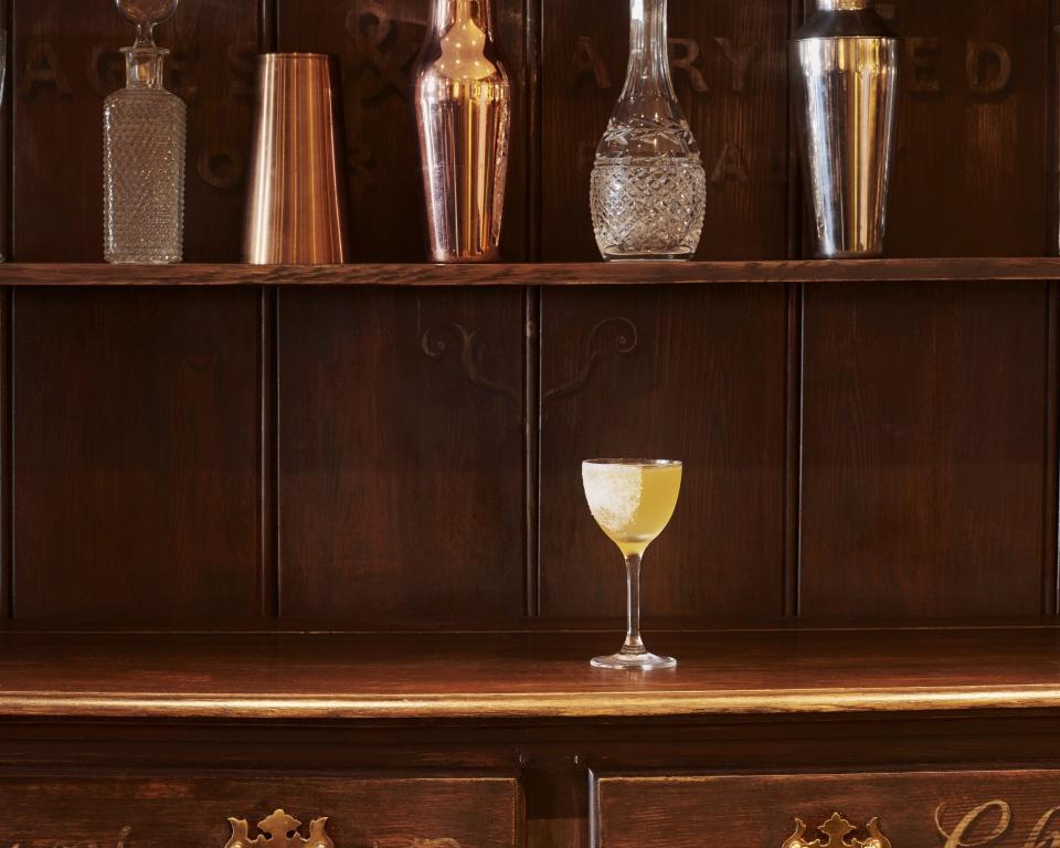 cognac cocktail Sidecar Named Desire