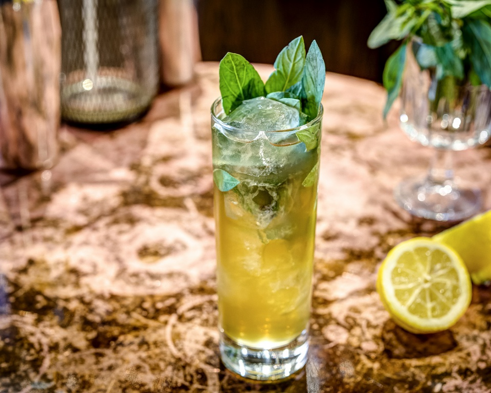 Cognac Highball Cocktail by Rich Woods, aka The Cocktail Guy