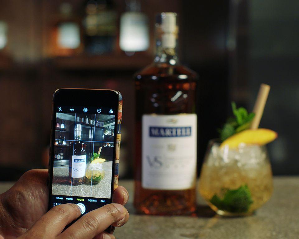 Martell VS Instagram -