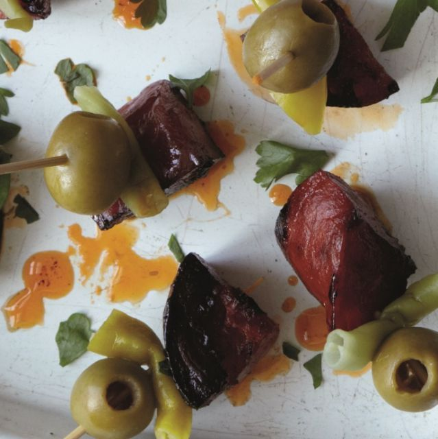 CHORIZO, OLIVES AND PICKLED CHILLI