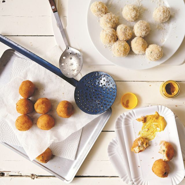 cheese and ham croquettes