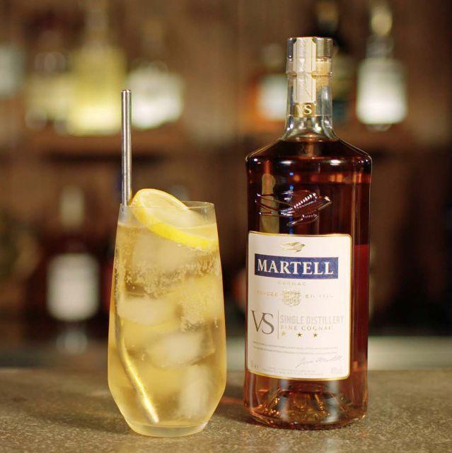 Martell & Soda