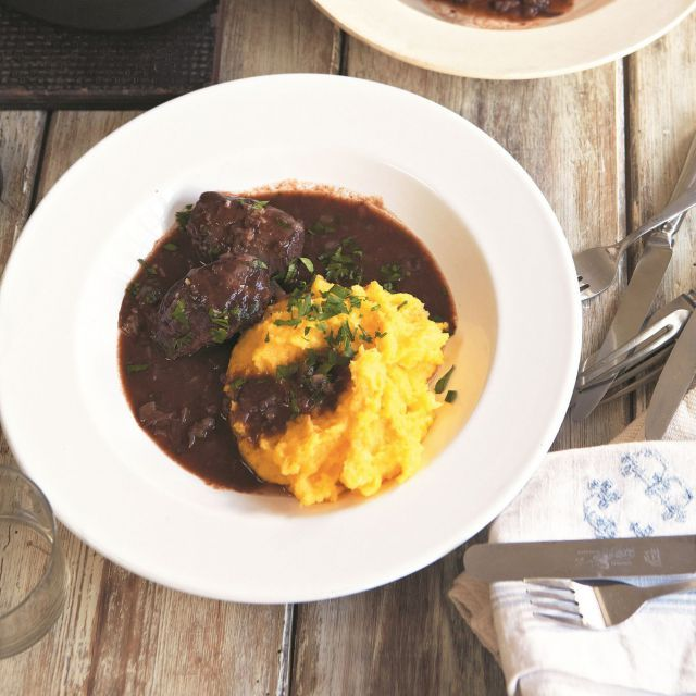 braised-pig-cheek-with-polenta-and-gremolata