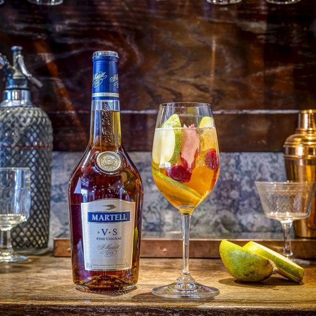 Seasonal Spritz Cocktail