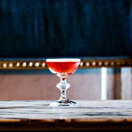 Blackcurrant Velvet Cocktail